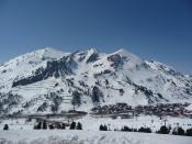 Obertauern hegyei