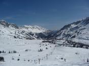Hegy völgy falu hegy ez Obertauern