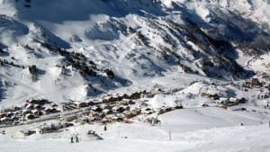 Síelésnek kedvező időjárás Obertauernben